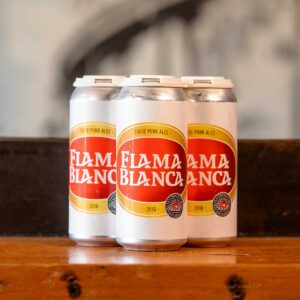 Flama Blanca Cans