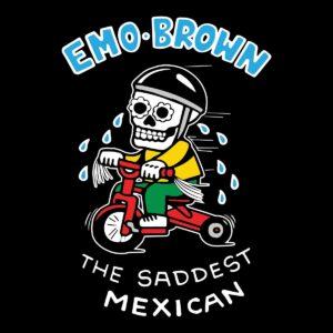 Emo Brown Beer Label