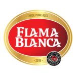 Flama Blanca Beer Label
