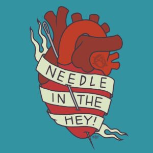 Needle In The Hey Beer Label