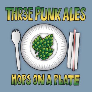 Hops On a Plate Logo